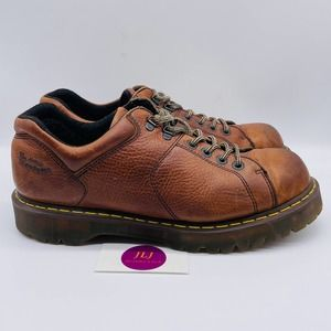 Dr Martens Men's 8312 Work Shoes Brown Size 14